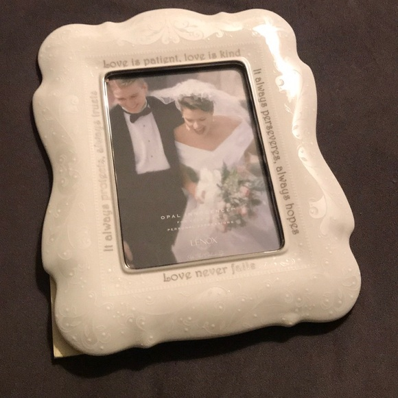 Lenox Accents Lenox Wedding Picture Frame Poshmark